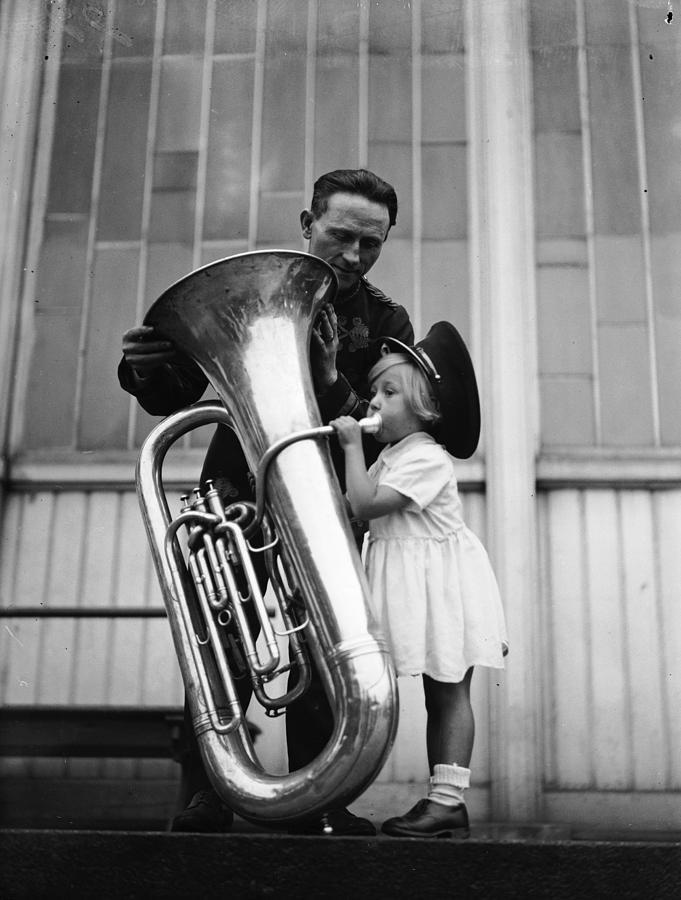 Adult Photograph - Top Brass by Derek Berwin