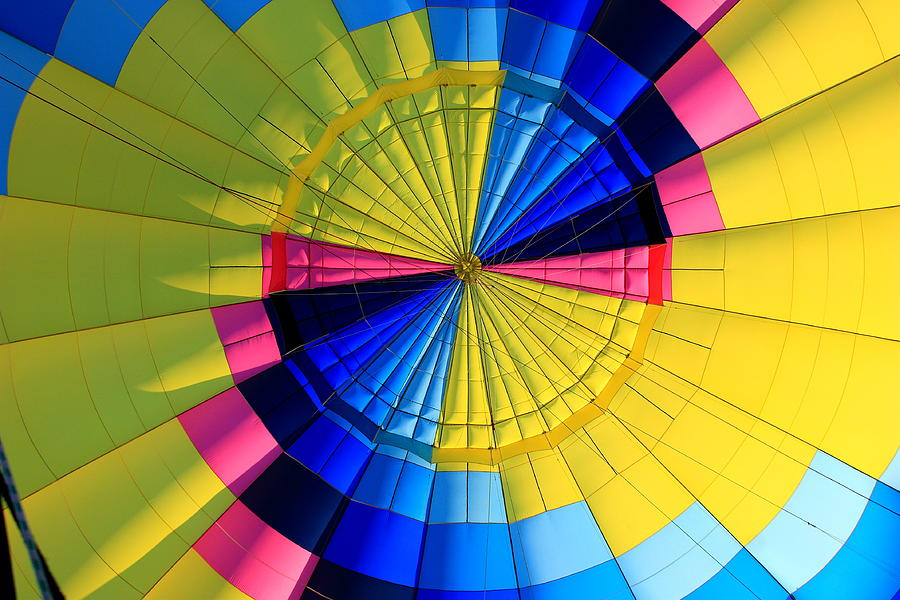 Balloon Photograph - Top Of The Envelope by Mark Codington