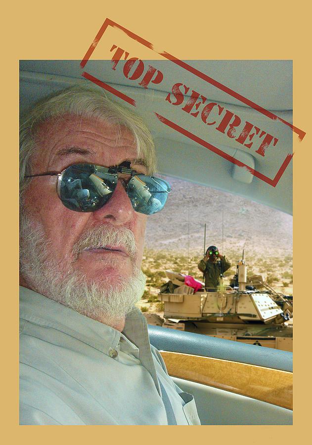Top Secret Photograph - Top Secret by Larry Mulvehill