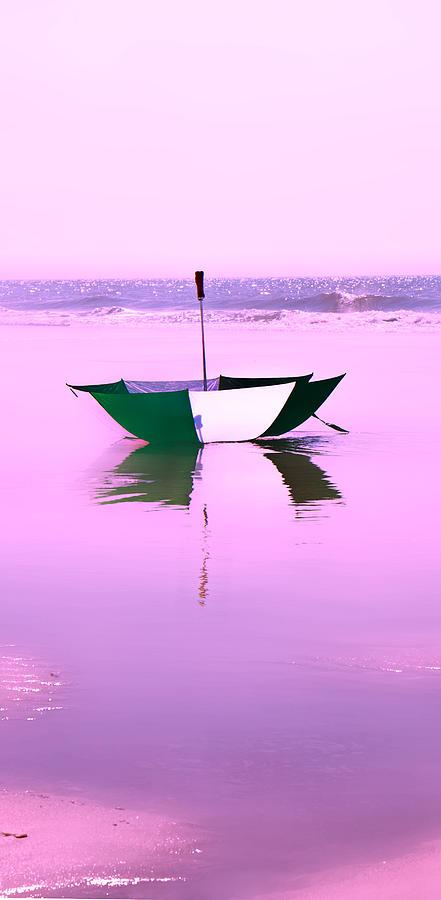 Umbrellas Photograph - Topsail Drifting by Betsy Knapp