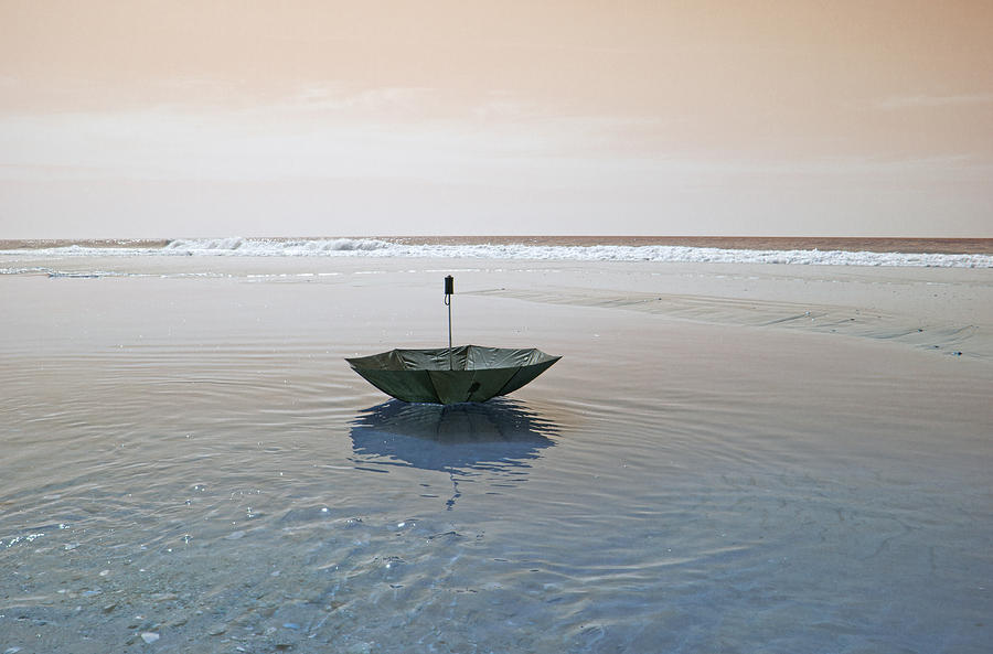 Topsail Photograph - Topsail Floating Umbrella by Betsy Knapp