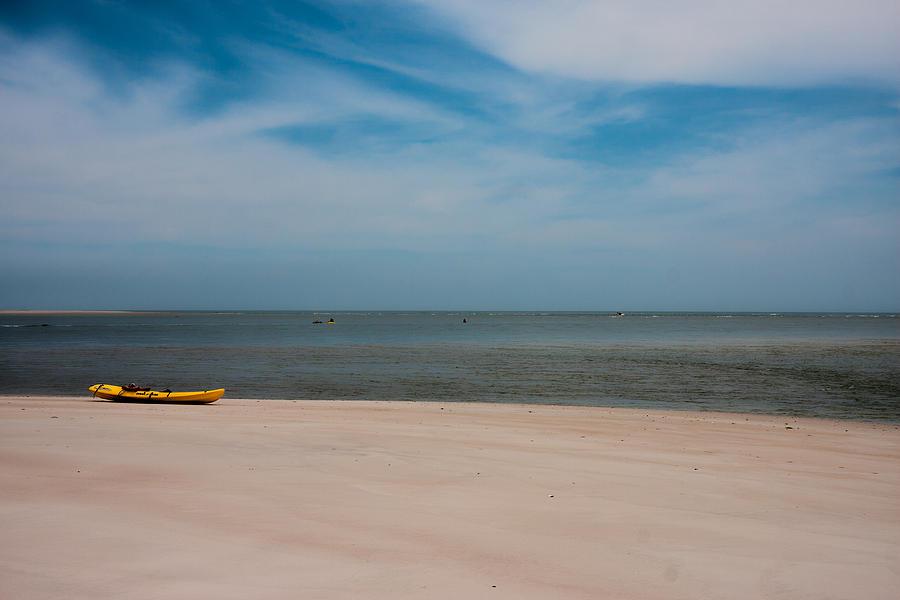 Topsail Photograph - Topsail Kayak by Betsy Knapp