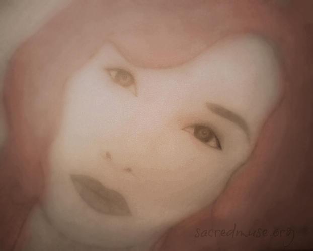 Tori Amos Painting - Tori Amos by Sacred  Muse