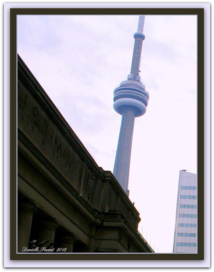 Toronto Cn Tower Canada Photograph by Danielle  Parent