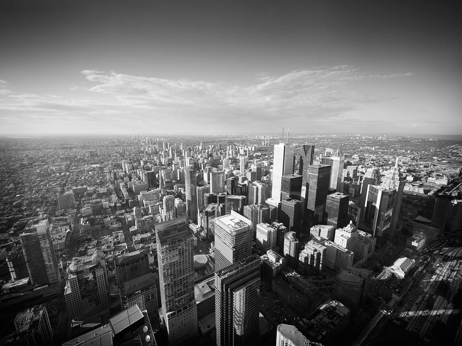 Toronto Photograph - Toronto From Above by Alexander Voss