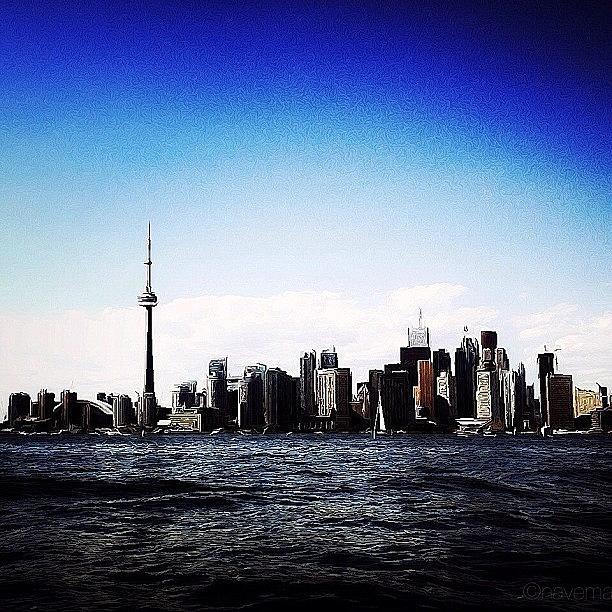 Canada Photograph - Toronto Skyline by Natasha Marco