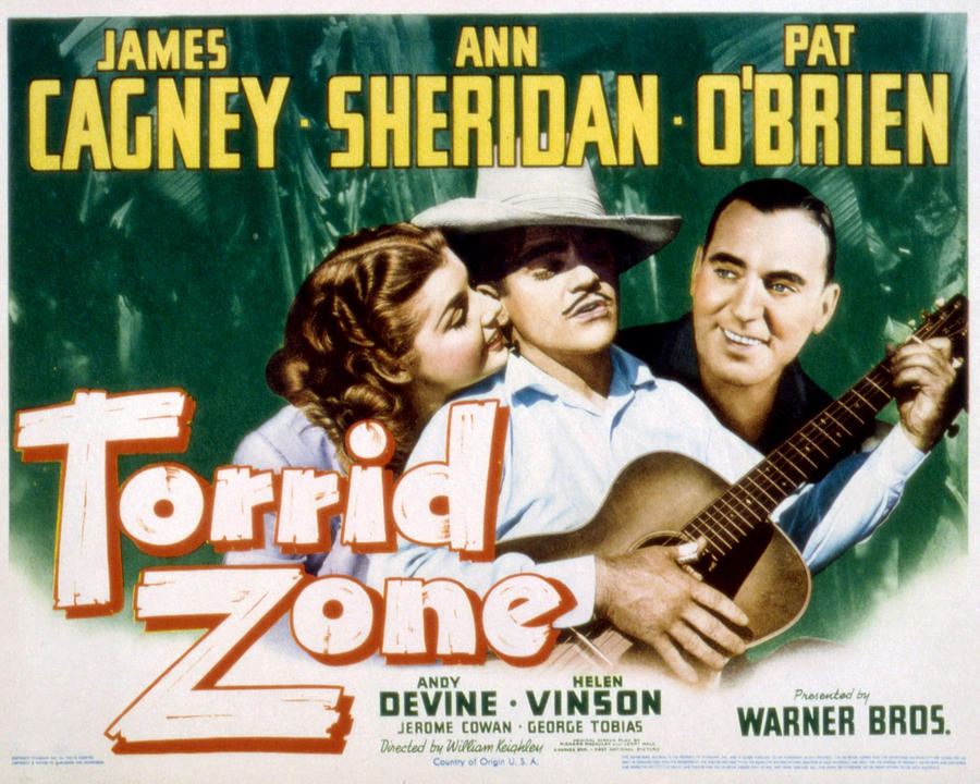 1940 Movies Photograph - Torrid Zone, Ann Sheridan, James by Everett