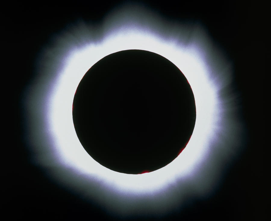 Solar Eclipse Photograph - Total Solar Eclipse, 1999 by Dr Fred Espenak