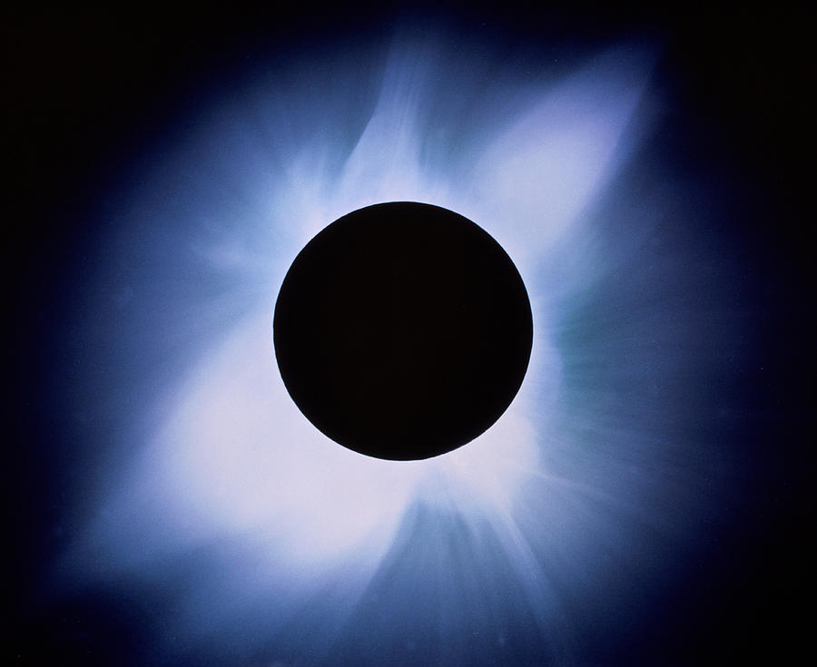 Eclipse Photograph - Total Solar Eclipse by Rev. Ronald Royer
