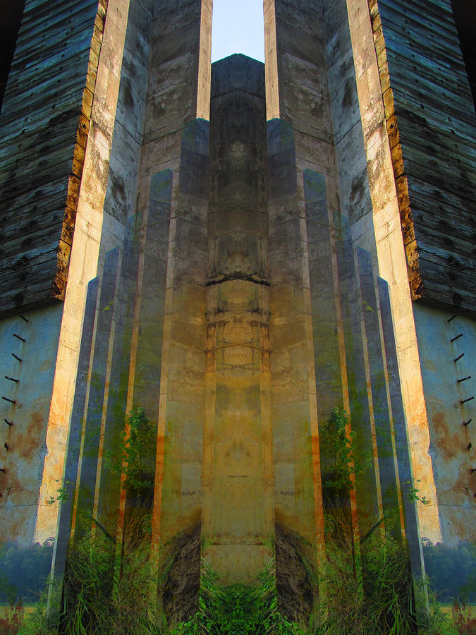 Color Blends Photograph - Totem by Michele Caporaso