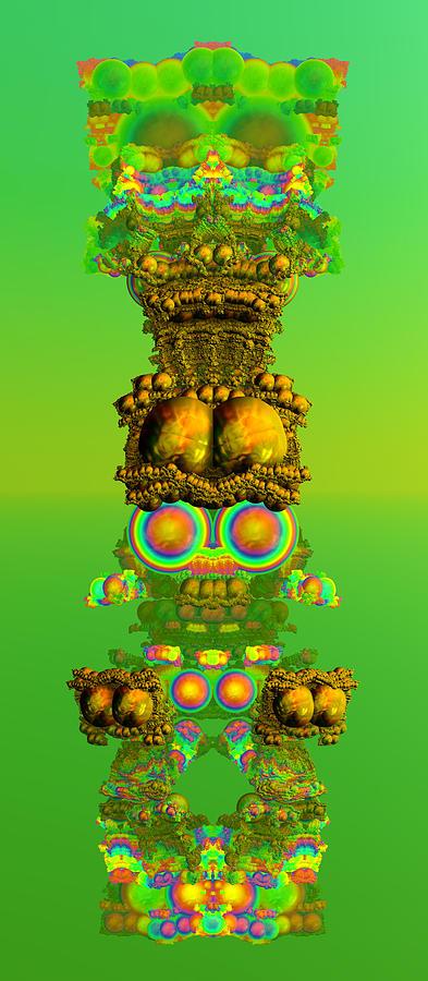 Totem Pete Digital Art