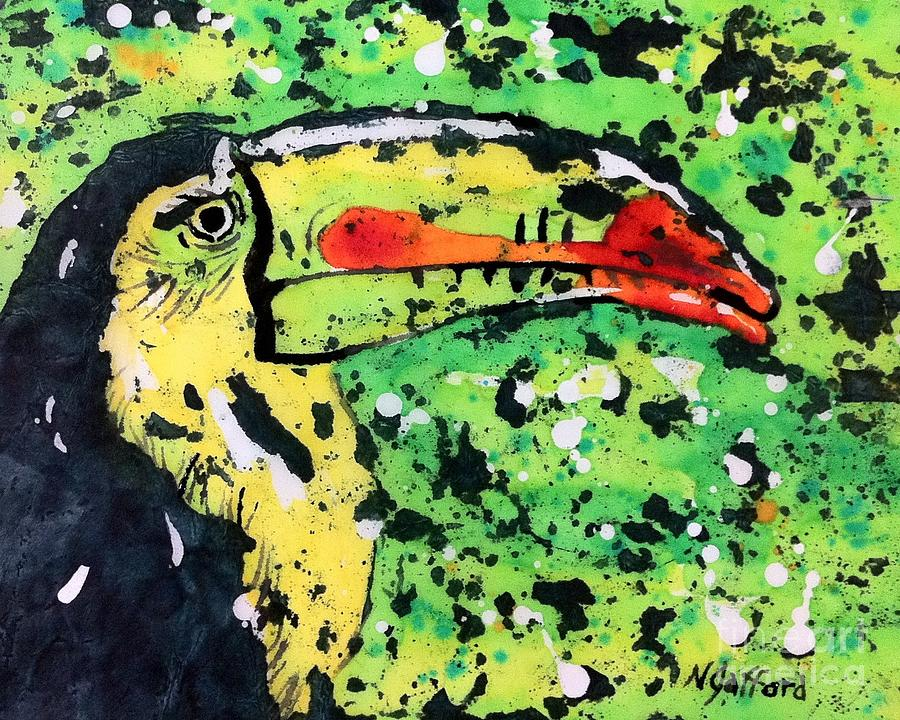 Nature Painting - Toucan by Norma Gafford