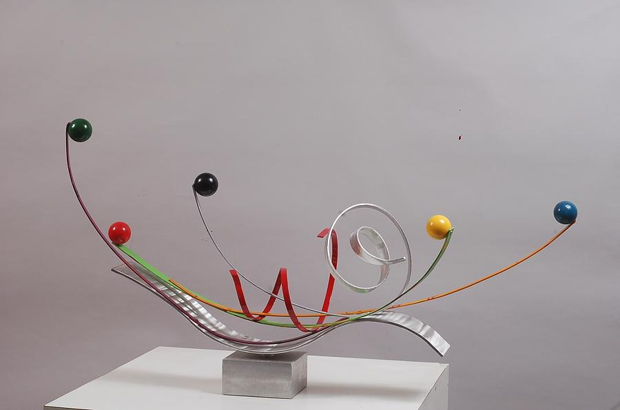 Heart Sculpture - Touch To Play - Edition 2 by Mac Worthington