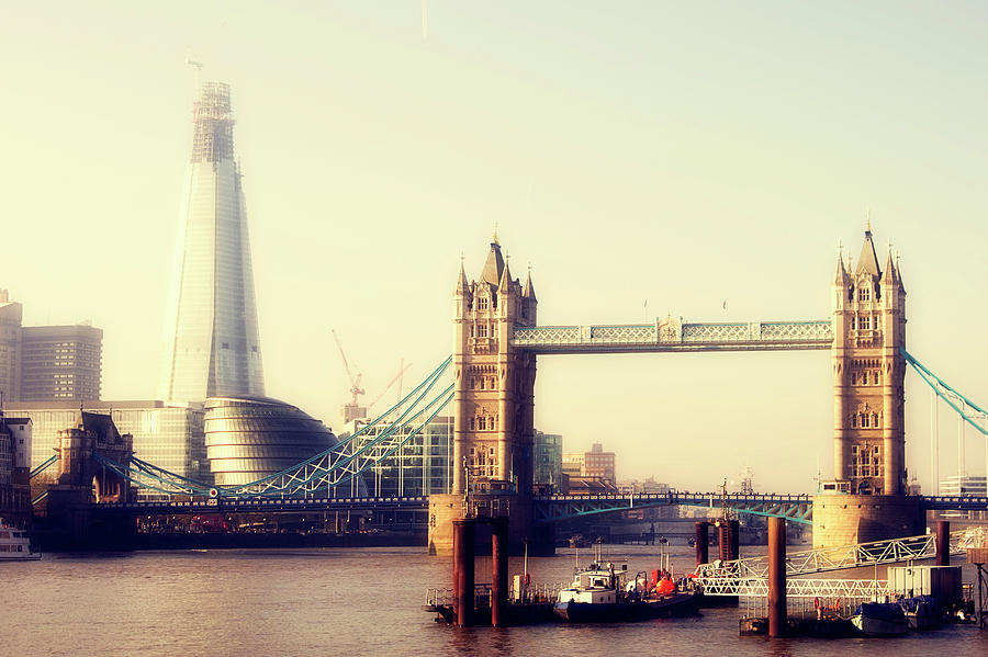 Horizontal Photograph - Tower Bridge by Eva Millan Photography