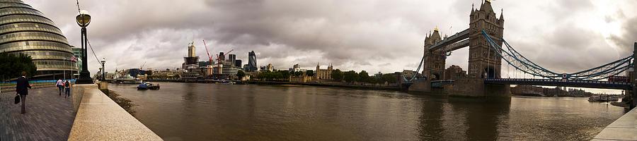 Tower Bridge Photograph - Tower Bridge by Keith Sutton