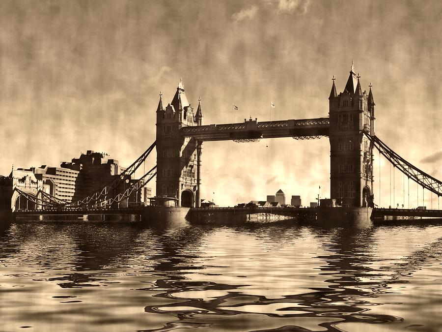 Tower Bridge Photograph - Tower Bridge by Sharon Lisa Clarke