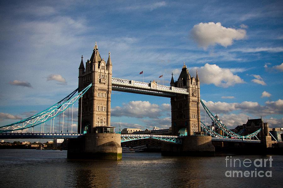 London Photograph - Tower Bridge by Steven Gray
