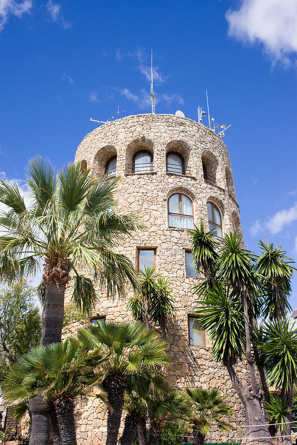 Tower Photograph - Tower In Puerto Banus by Artur Bogacki