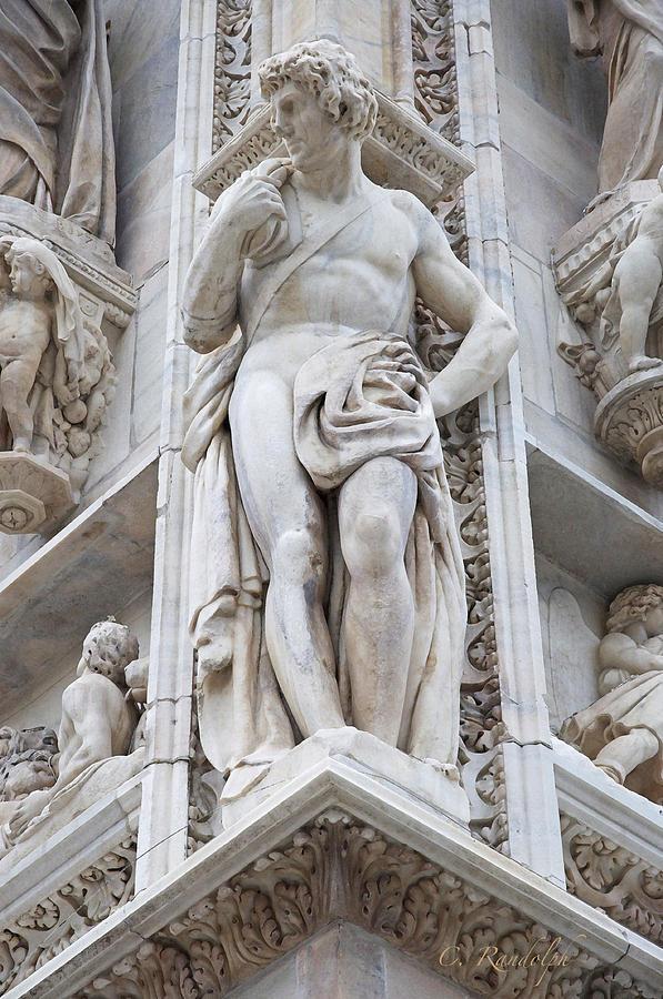 Milan Photograph - Tower Of Strength by Cheri Randolph