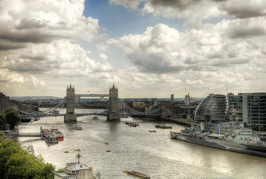 Horizontal Photograph - Tower View by Gregory Warran