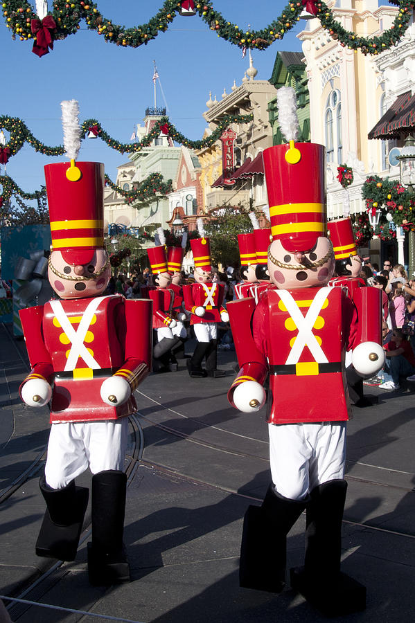 Holidays Digital Art - Toy Soldiers Parade by Charles  Ridgway