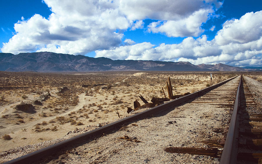 Landscape Photograph - Track To The Mountains by Jeffery Reynolds