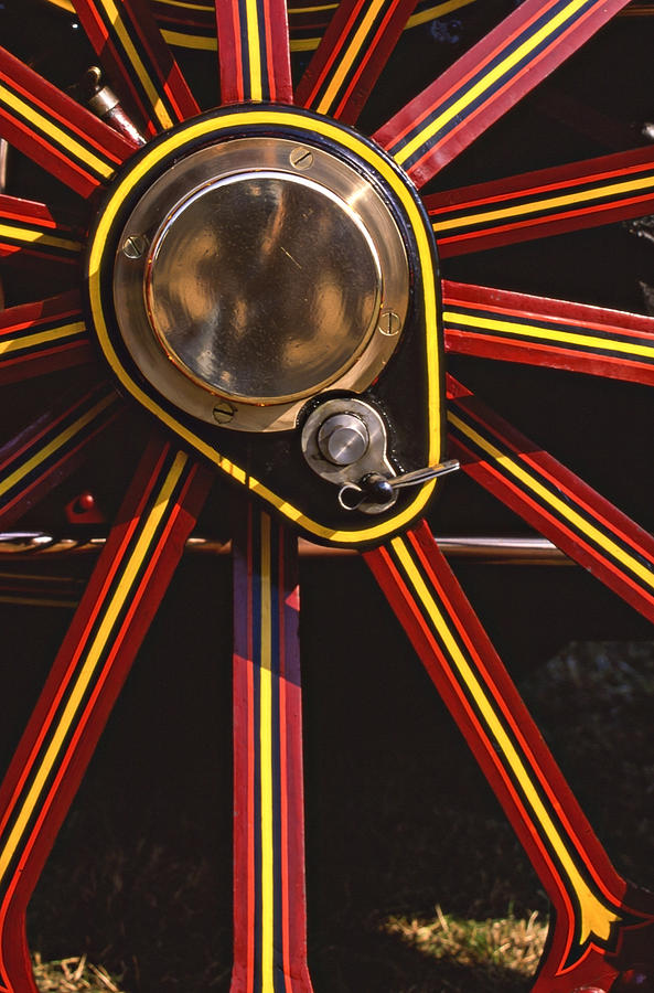 Traction Engine Photograph - Traction by Meirion Matthias