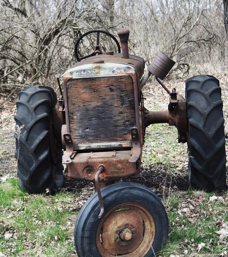 Tractor Photograph - Tractor-1 by Todd Sherlock