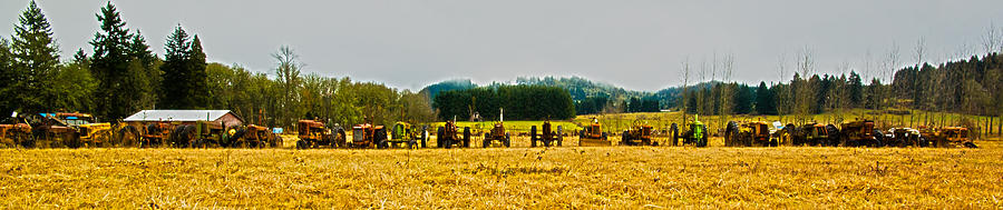 Farm Photograph - Tractors Ready by Dale Stillman