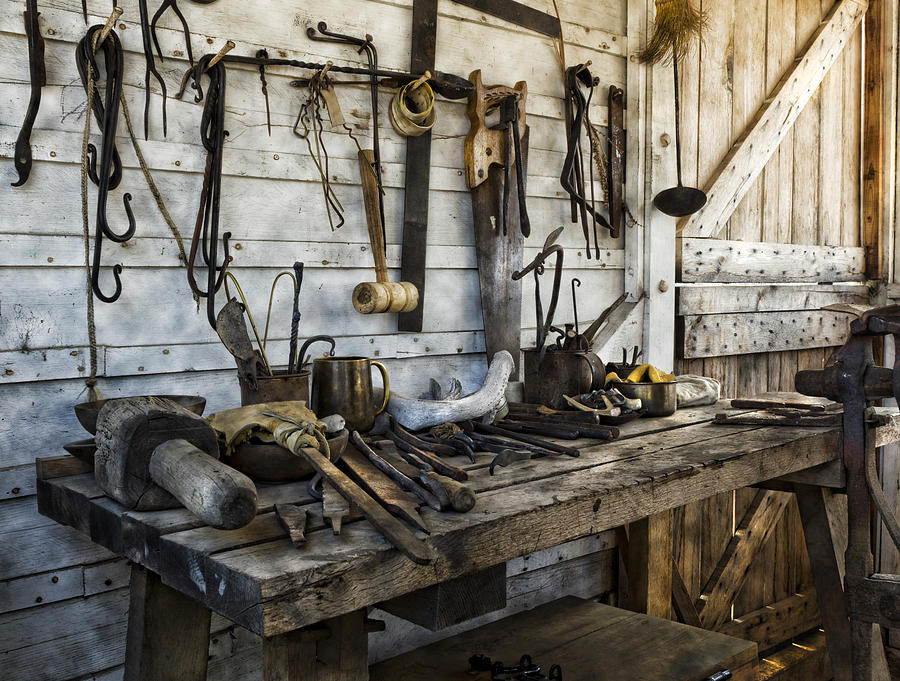Old Fort Niagara Photograph - Trade Tools by Peter Chilelli