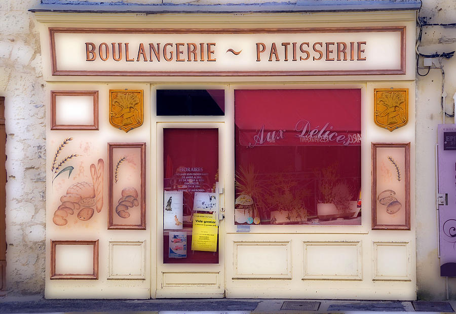 Mediaeval Photograph - Traditional French Shop by Rod Jones
