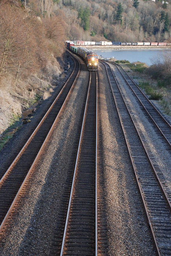 Train Photograph - Train by Michael Merry