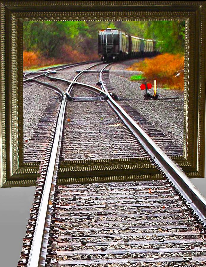 Train Oof Photograph by Joe Granita