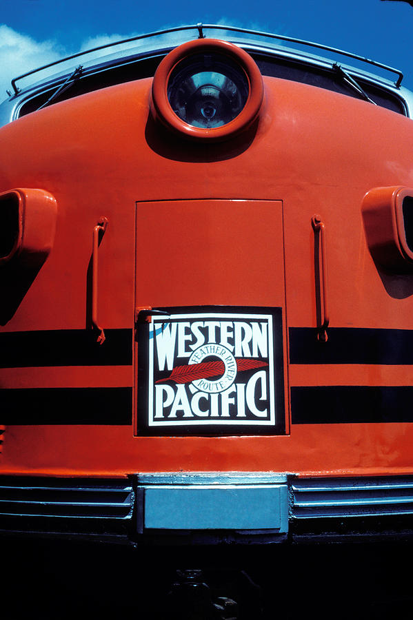 Train Photograph - Train Western Pacific by Garry Gay