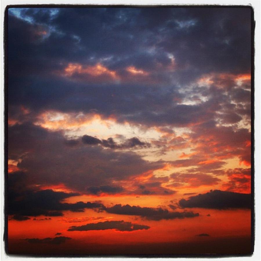 Sunset Photograph - Tramonto A Roma by Luisa Azzolini