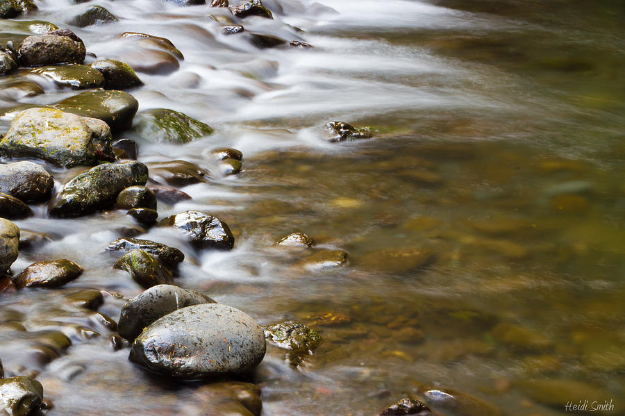 Stream Photograph - Tranquil by Heidi Smith