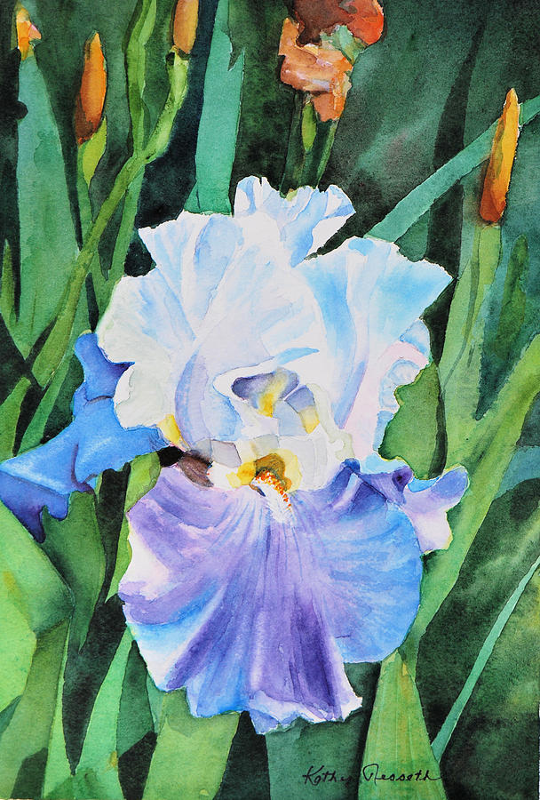 Watercolor Painting - Tranquil by Kathy Nesseth