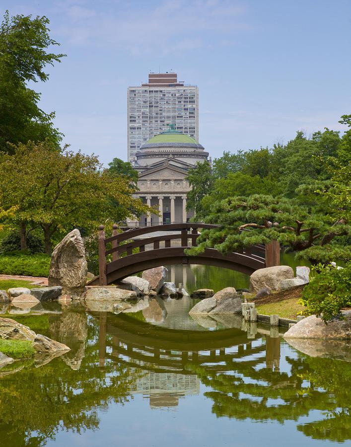 Tranquility At Osaka Garden Photograph by Orlando Guiang