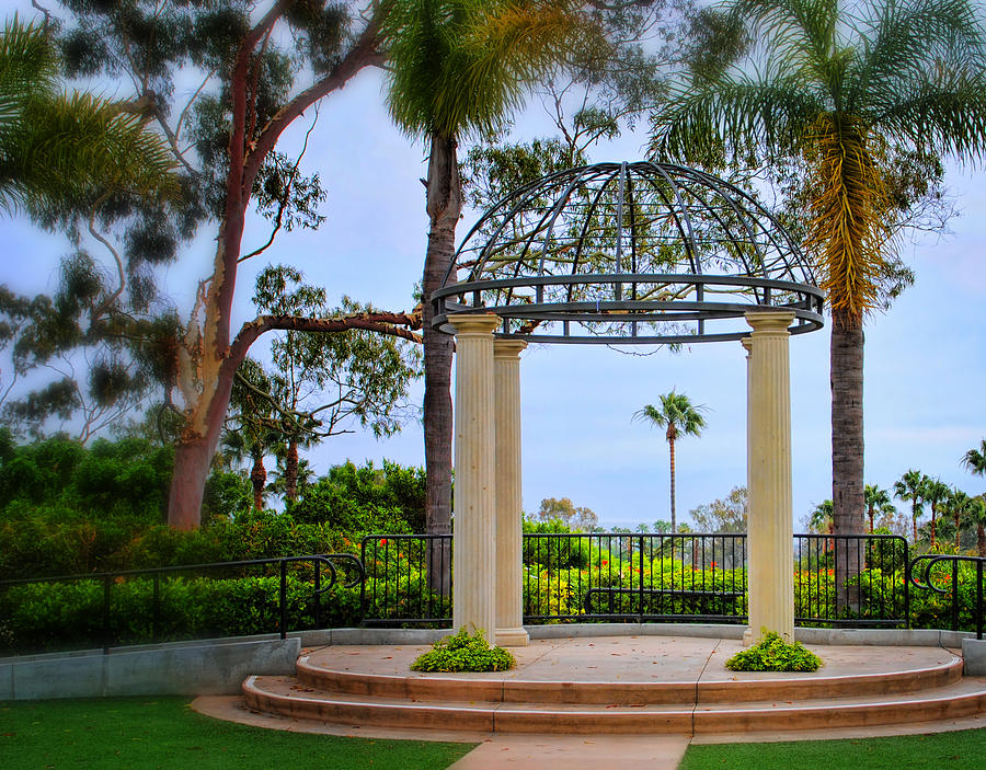 Gazebo Photograph - Tranquility by Diane Wood