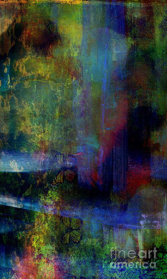Fania Simon Mixed Media - Tranquility by Fania Simon