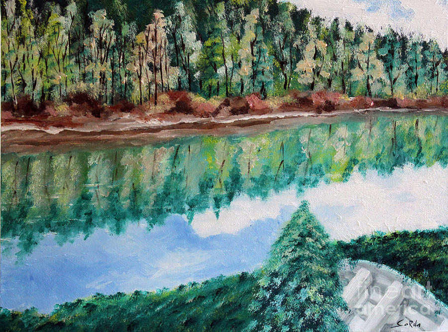 Landscape Paintings Painting - Tranquility by Seth Corda