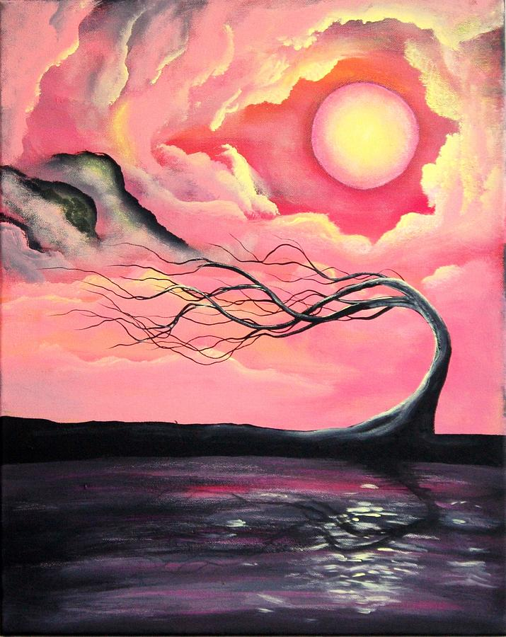 Landscape Painting - Tranquility2 by Angie Phillips