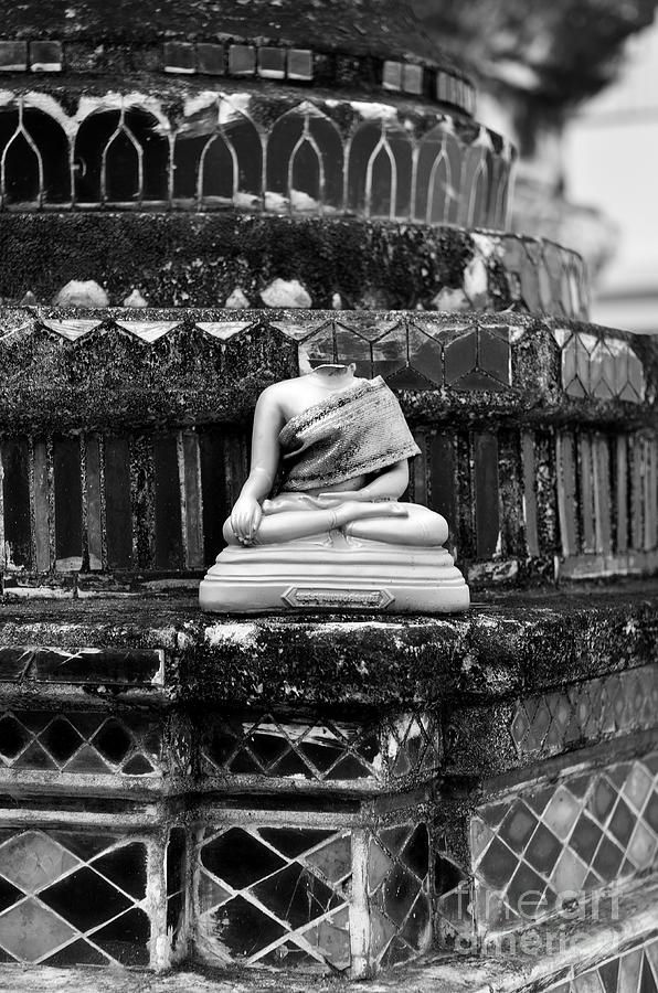 Buddha Photograph - Transiency IIi by Dean Harte