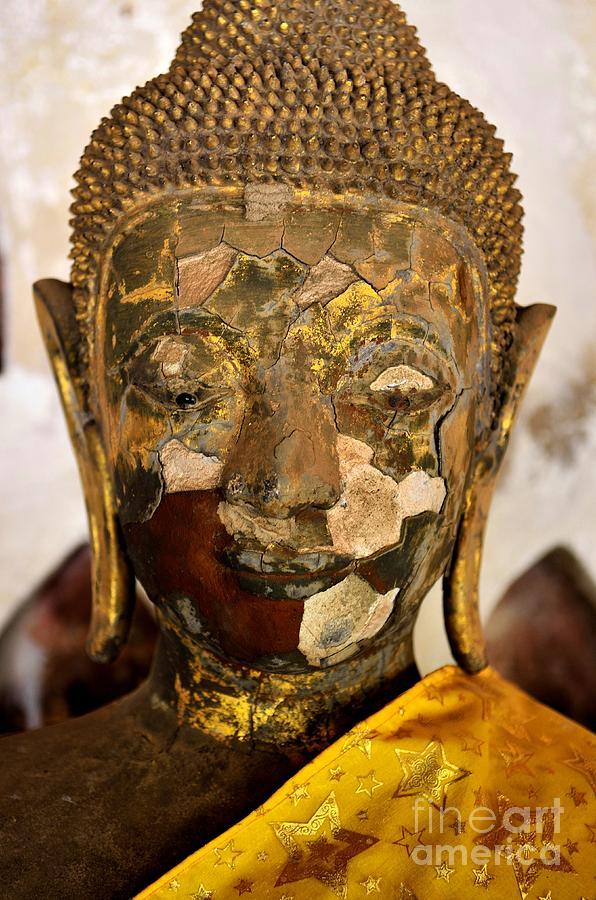Buddha Photograph - Transiency Iv by Dean Harte