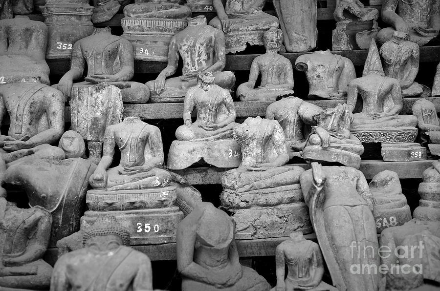 Buddha Photograph - Transiency Vi by Dean Harte