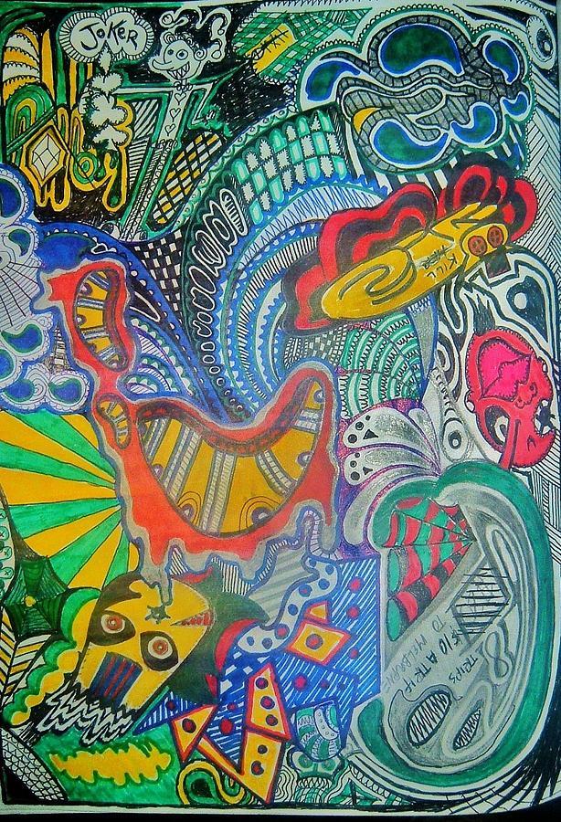 Trash Drawing by Ragdoll Washburn