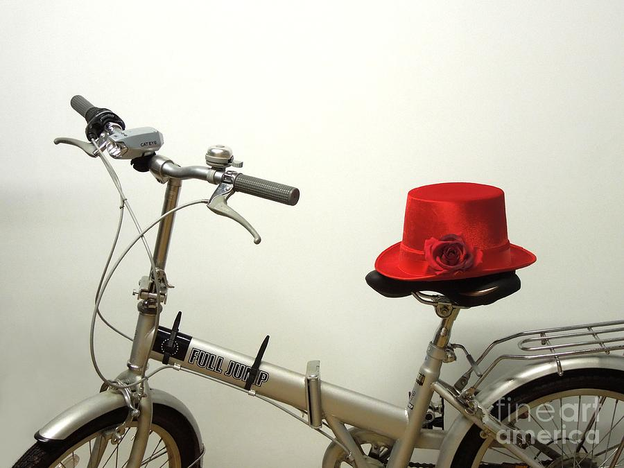 Bicycle Photograph - Traveling In Style by Renee Trenholm
