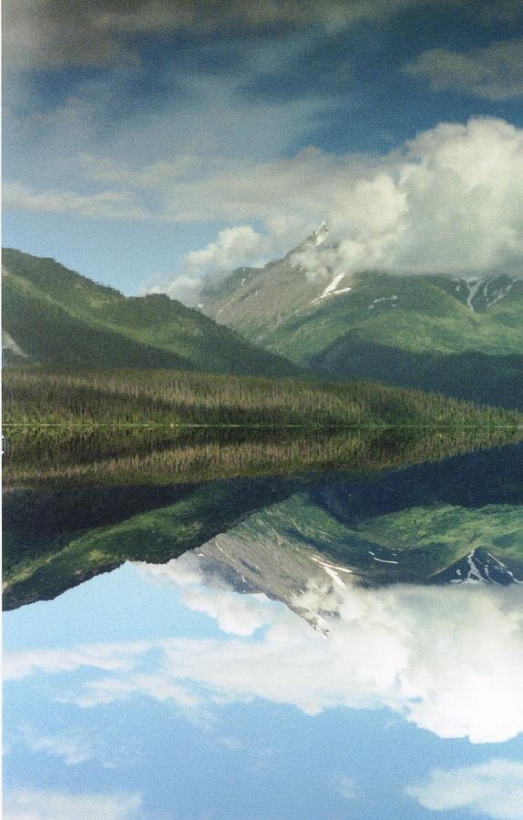 Anchorage Photograph - Traveling To Seward by Ann Marie Chaffin