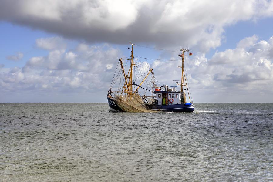 Fishing Boat Photograph - trawler - Sylt by Joana Kruse