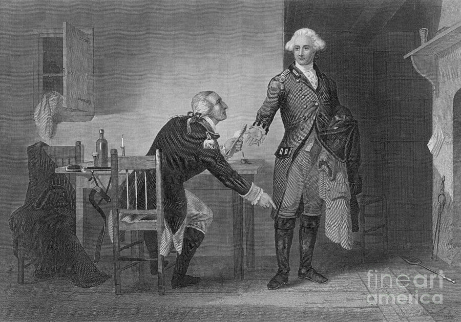 History Photograph - Treason Of Benedict Arnold, 1780 by Photo Researchers